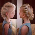 エルサの子供の髪型を簡単にできるやり方を動画で!アナ雪のハロウィン仮装